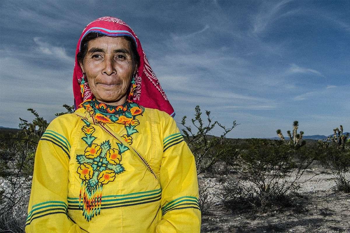 Huicholes Women Wixarika Mexico Peyote