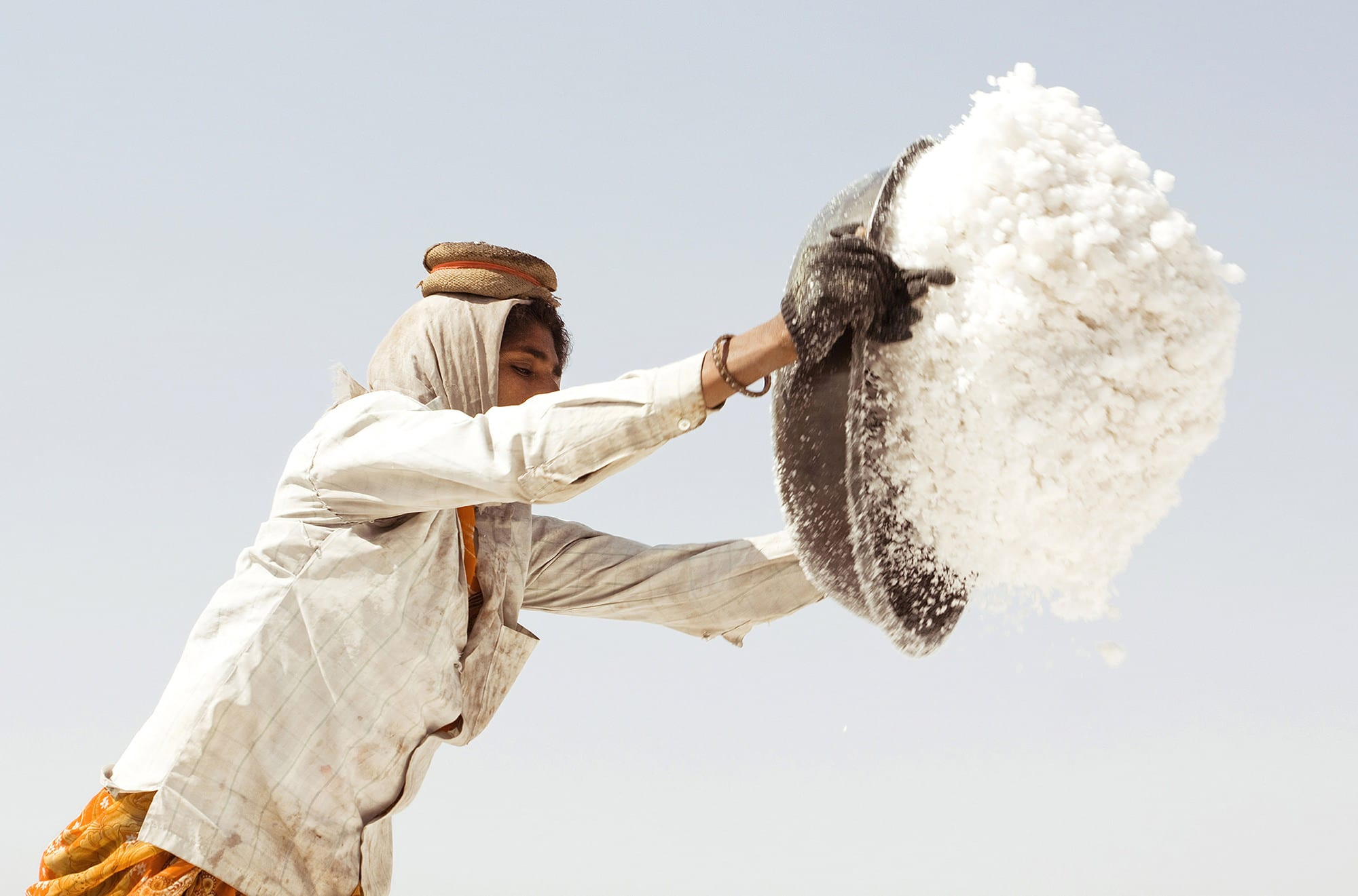 Saltfarmers Little Ran of Kutch Koli Tribe India