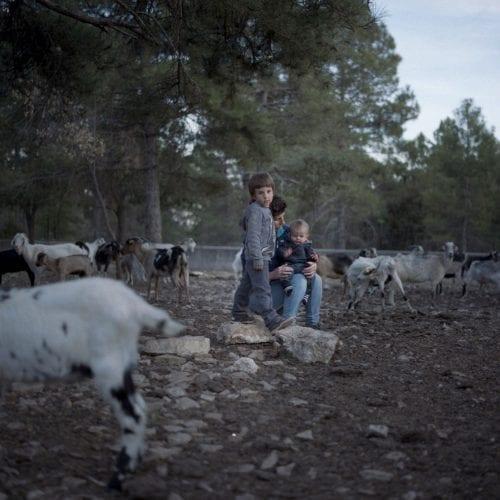 Pilar and his children