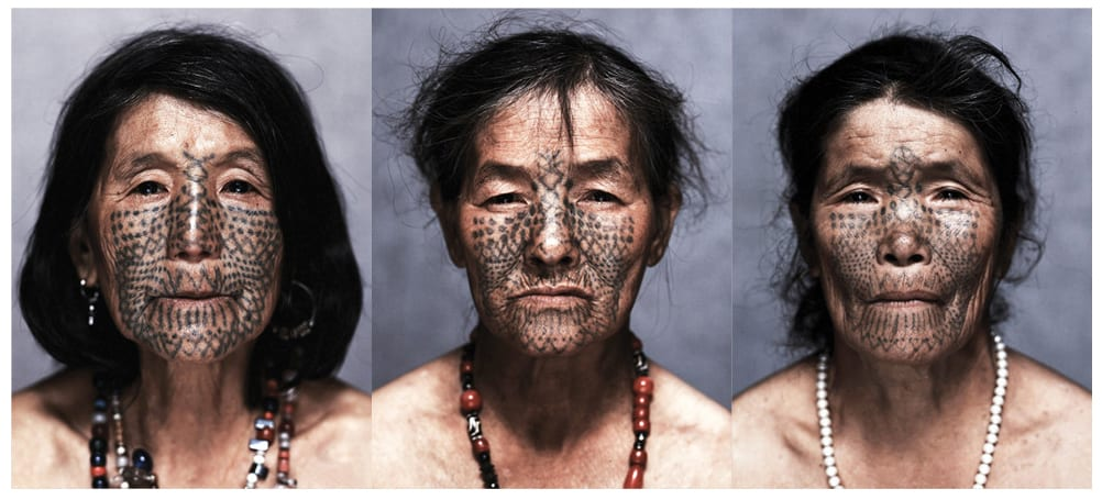 Indigenous Women With Face Tattoos