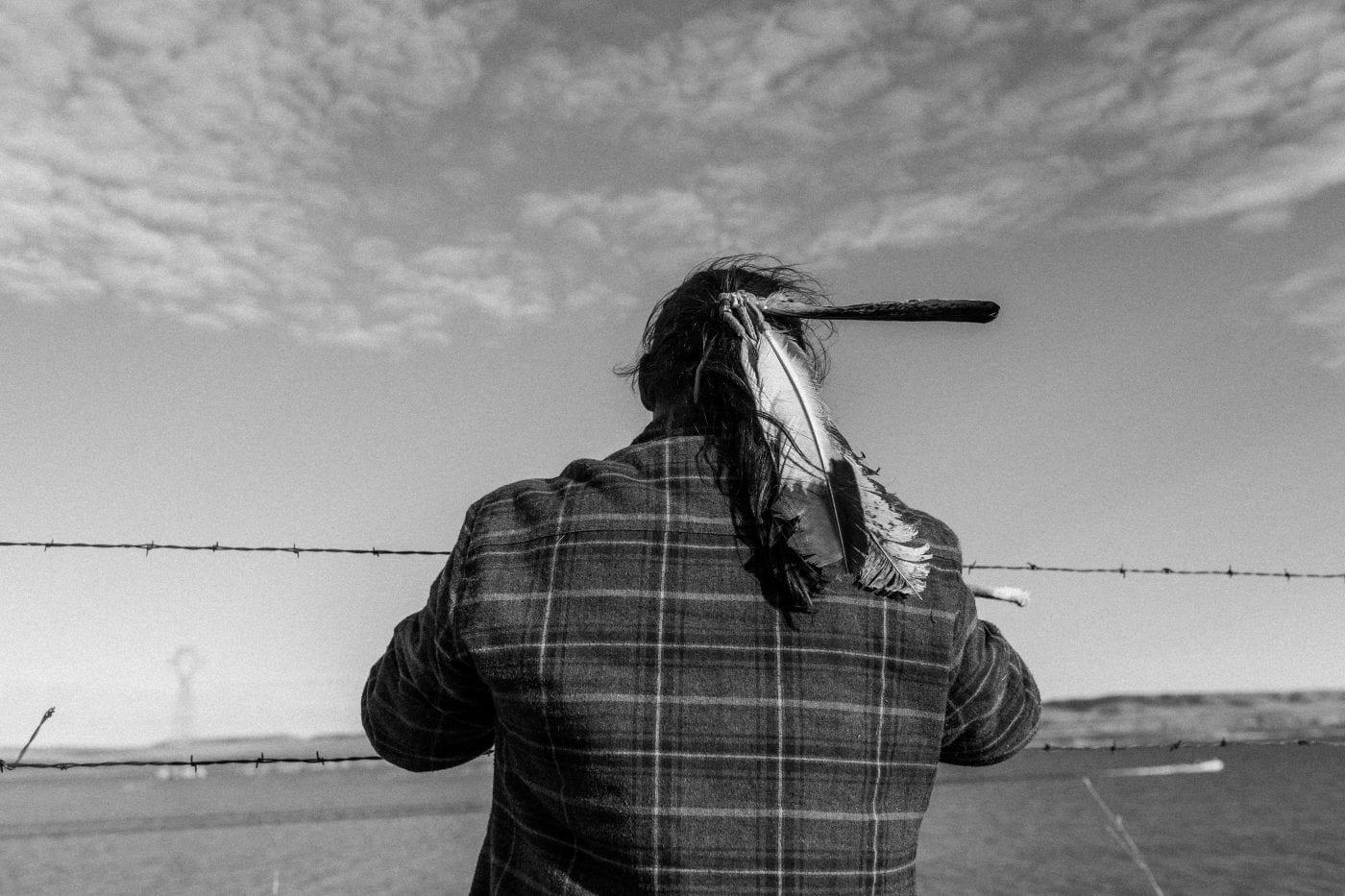 Indigenous Man Praying