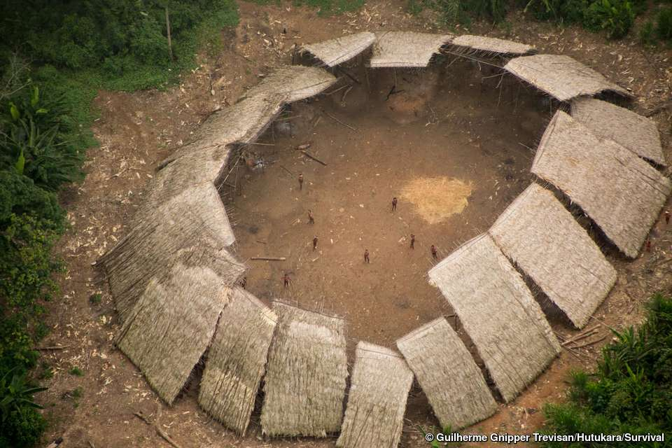 Yanomami settlement amazin pathogens tribes