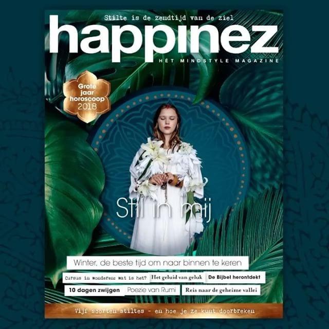 Happinez Magazine Cover