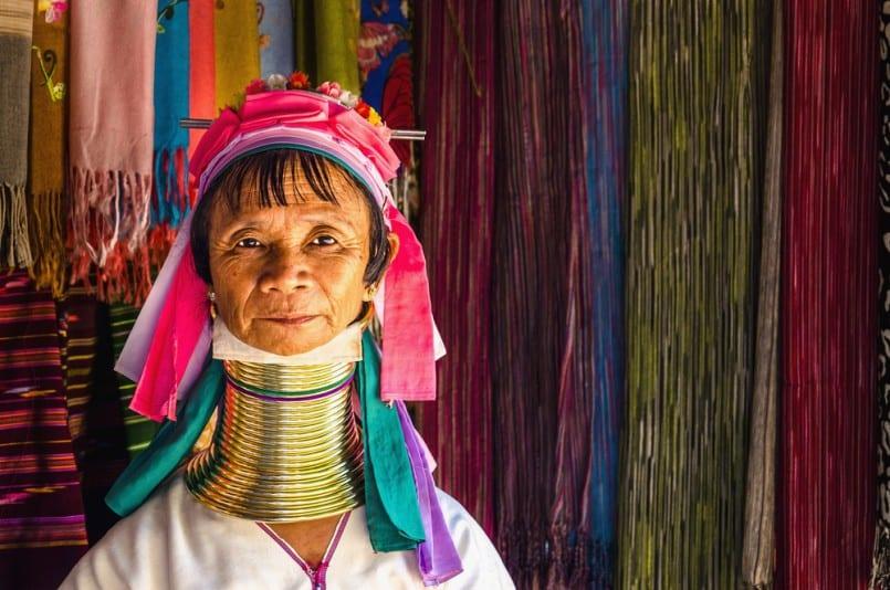 Kayan Lahwi Tribe Woman