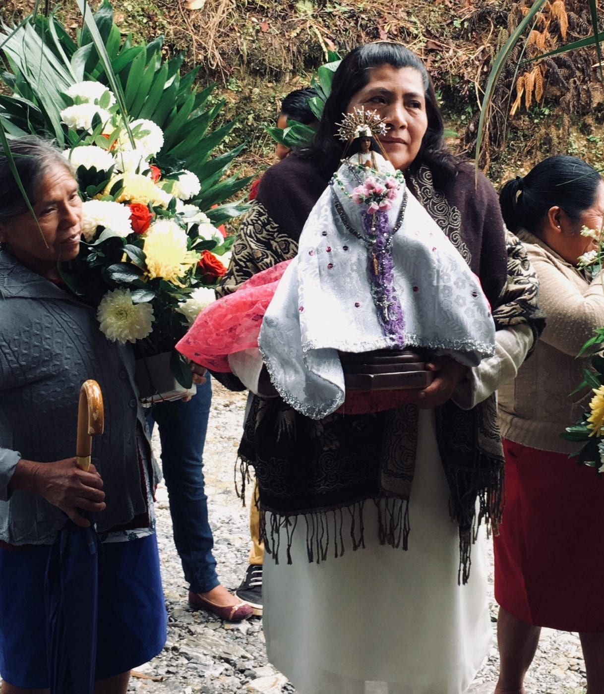 Modern day Mazateca ceremony