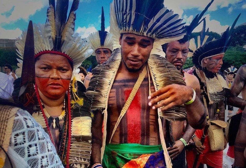 Xakriaba Free Land Camp Brazil Indigenous