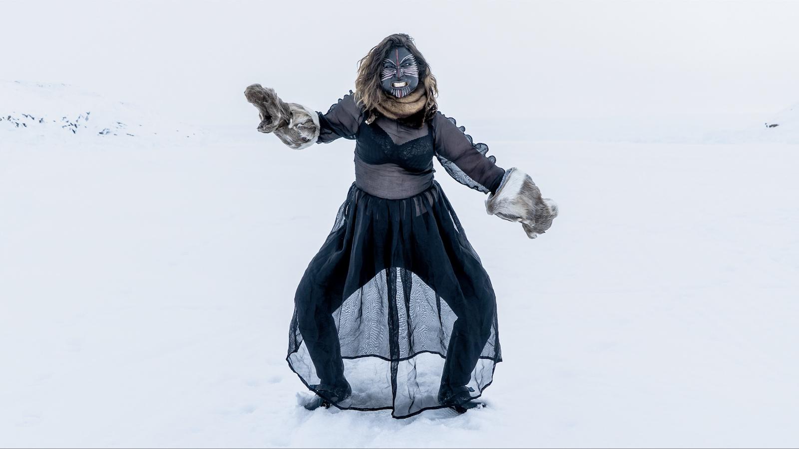 Greenland Inuit Mask dance ujeerneq