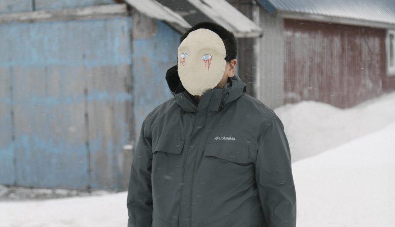 Alaska Suicide Art Therapy Mask Yupik